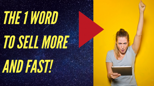 Use This ONE WORD To Sell More & Persuade Like Magic!